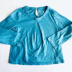 Baby Gap Playtime Basic Teal Swing Shirt